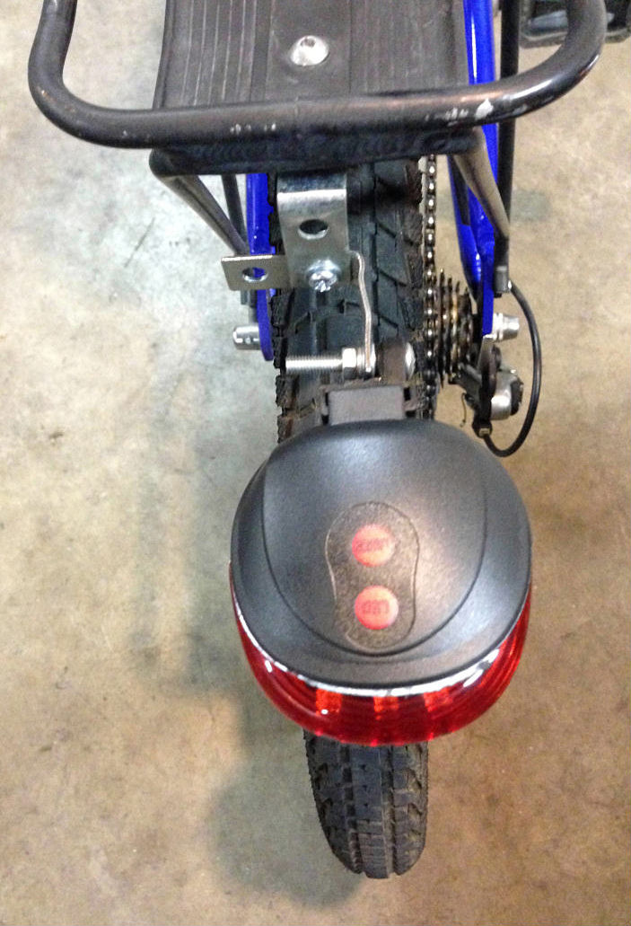 Bike tail light